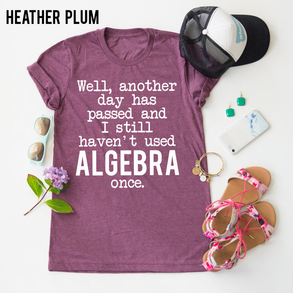 Haven't Used Algebra Once tee