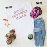 Girls Support Girls tee