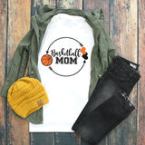 Basketball Mom Circle Arrows