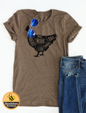 Funny Farm Chicken Tee