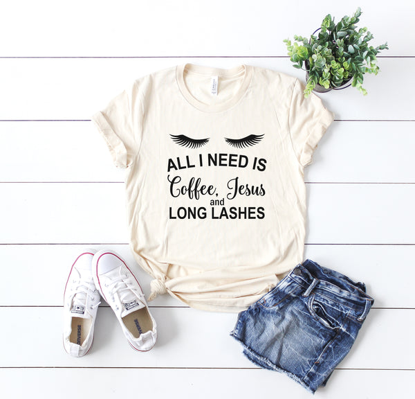 Coffee, Jesus, And Long Lashes