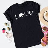 Baseball Equipment Love Tee