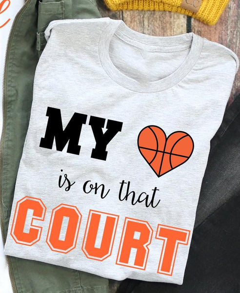 Basketball Court tee