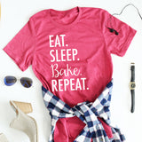Eat Sleep Bake Repeat Tees