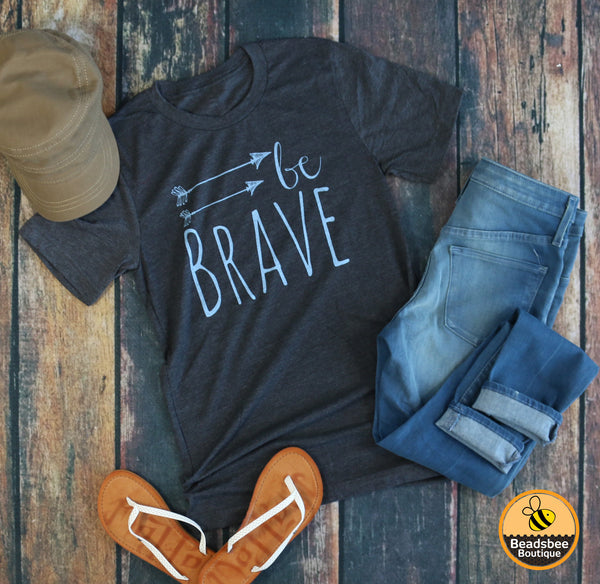 Be Brave Arrow Tee