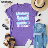 California Surfing tee