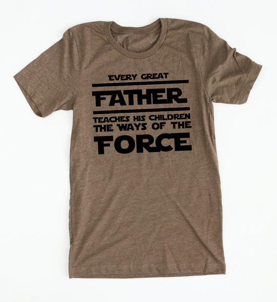 Every Great Father tee