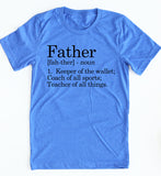 Definition Of A Father tee
