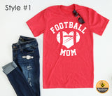 Football Mom Big Heart Tee