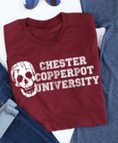 Chester Copperpot University tee