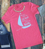 Wind in the Sails tee