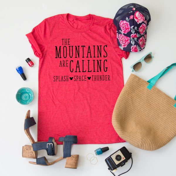 The Mountains Are Calling tee