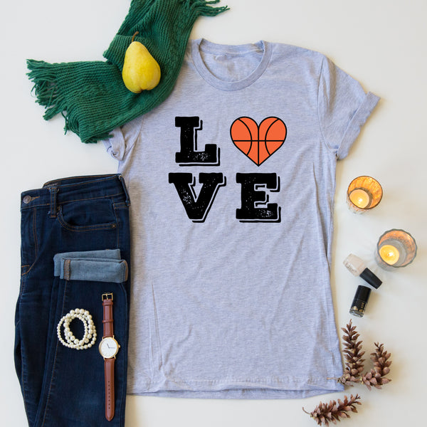 Basketball Love tee