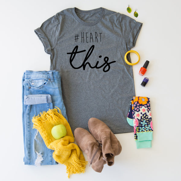 #HEART this tee