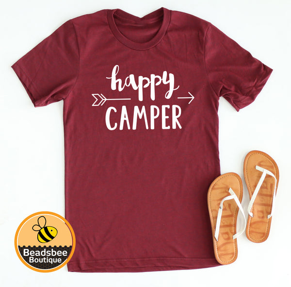 Happy Camper Arrow tee
