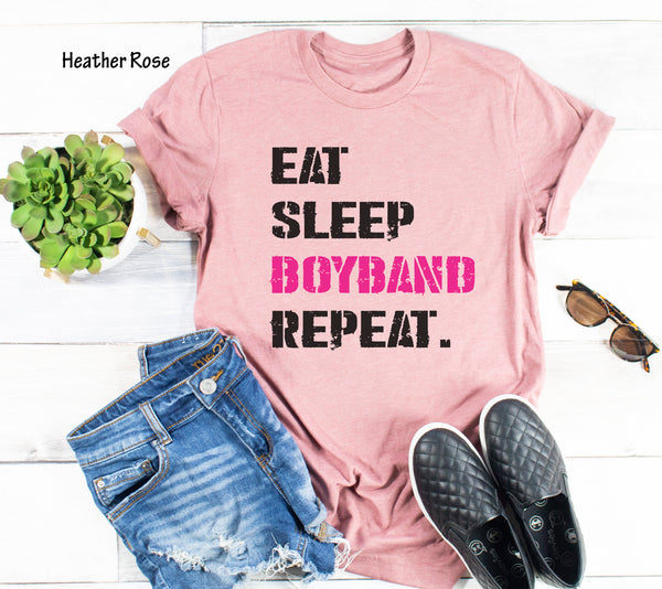 Eat Sleep Boyband Repeat.