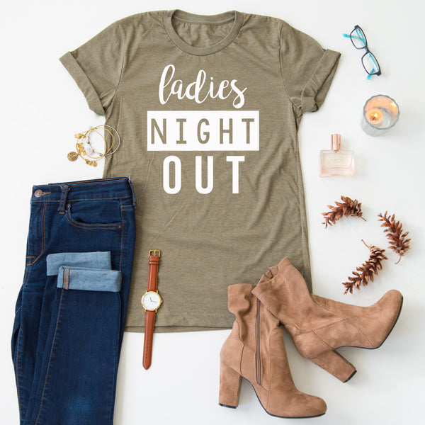 Ladies Night Out tee