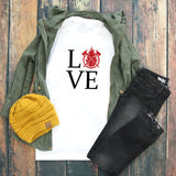 Firefighter Love tee