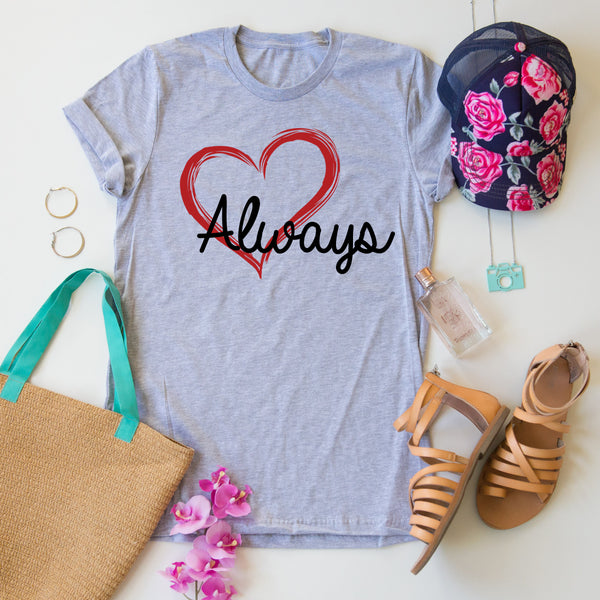 Heart Always Tee