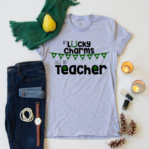 Lucky Charms Teacher Tee