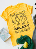 Galaxy Far Far Away tee