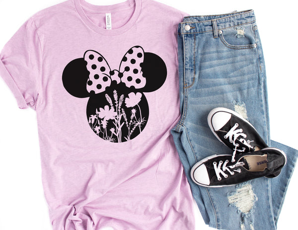 Minnie Mouse Floral