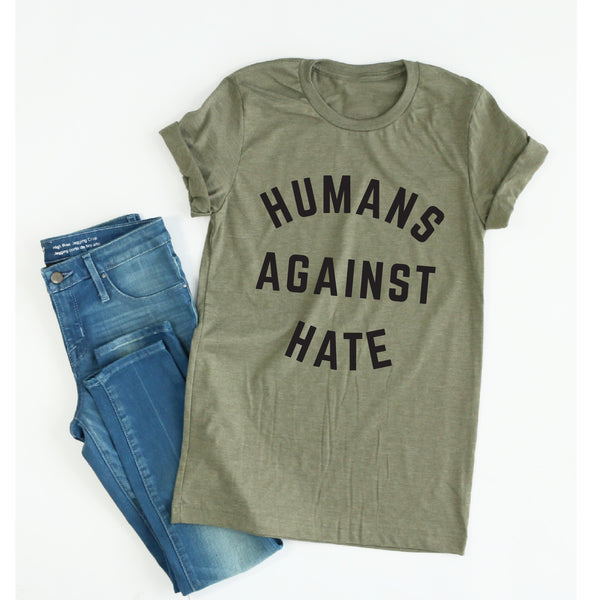 Humans Against Hate tee