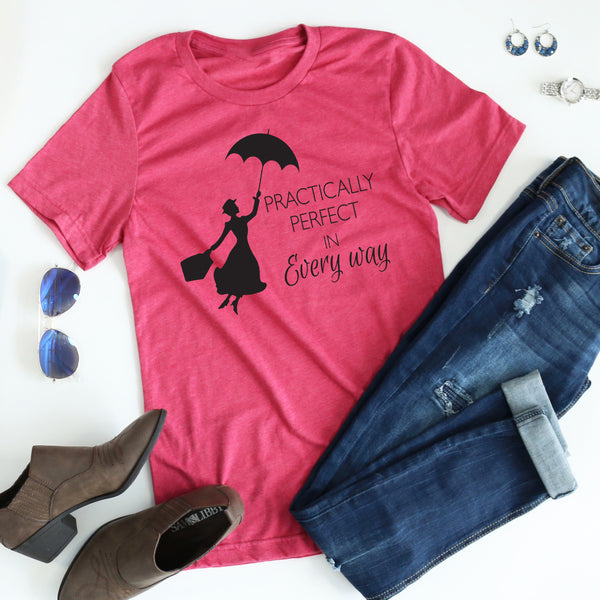 Practically Perfect Tee - Black Ink