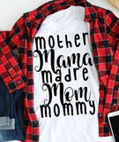 Many Ways To Say Mother tee