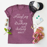 Child Wrangling, Soda Dinking tee
