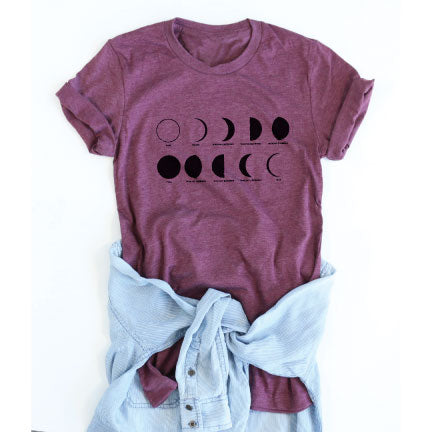 Moon Phases tee