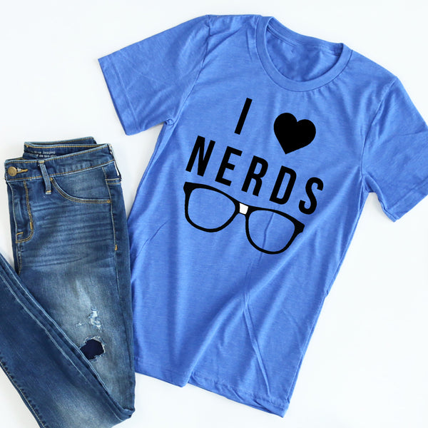 I (Heart) Nerds tee