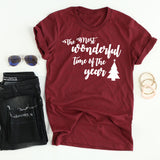 Wonderful Time Of The Year tee
