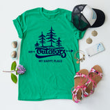 Outdoors- My Happy Place tee