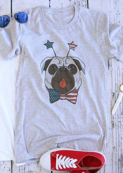 Stars And Stripes Pug