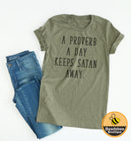 A Proverb A Day tee
