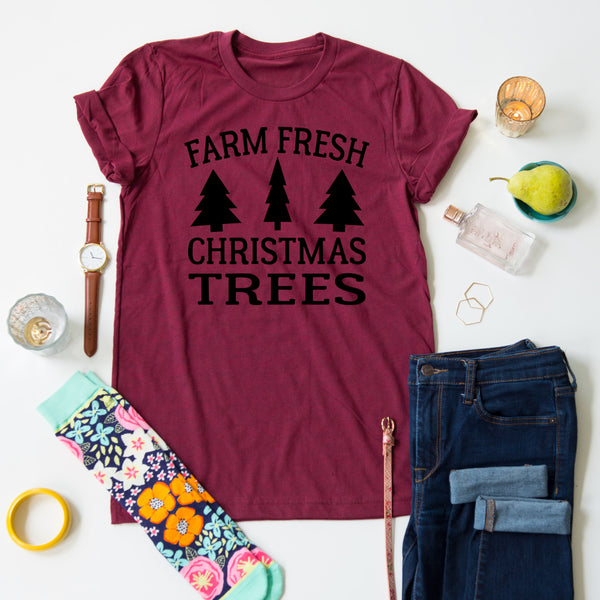 Farm Fresh Christmas Tee
