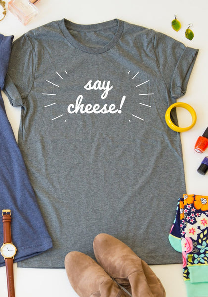 Say Cheese tee
