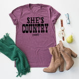 She's Country tee