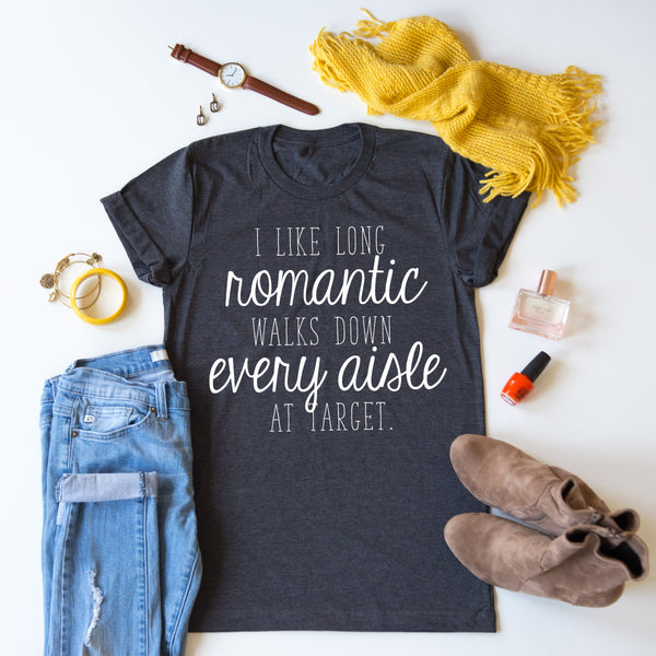 Target - Romantic Walks Tee