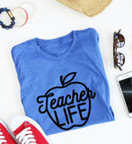 Teacher Life - Apple tee
