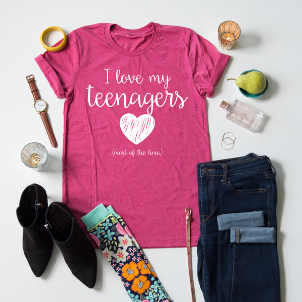 I Love My Teenagers tee
