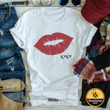 Valentine Day Kiss Tee