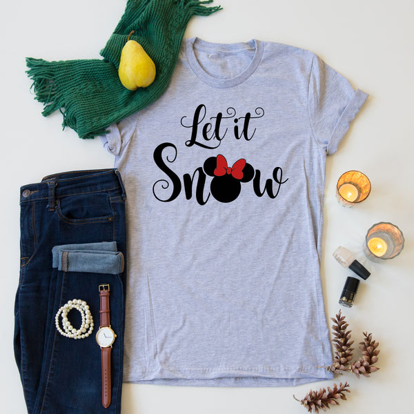 Let it Snow - Minnie Tees
