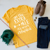 Go The Extra Mile tee