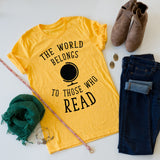 Those Who Read tee