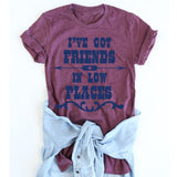 I've got Friends in Low Places tee