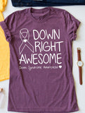 Down Syndrome Ribbon Tee