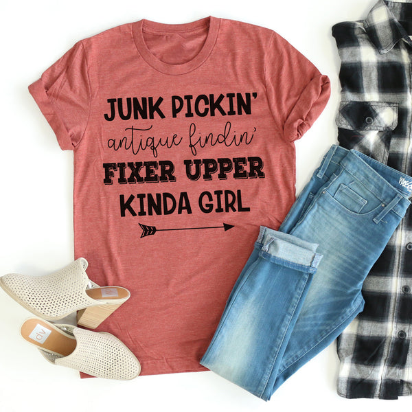 Fixer Upper Kinda Girl tee