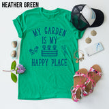 My Garden Is My Happy Place tee